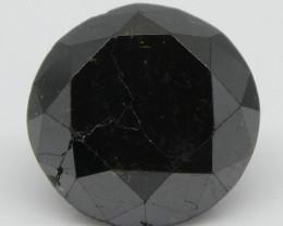 2.46ct Black Diamond Round