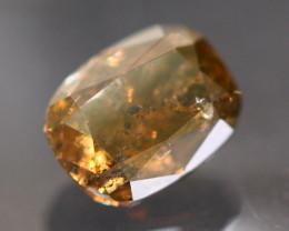 0.56Ct  Natural Brown Color Fancy Diamond D0112