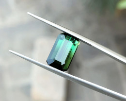 3.05 Ct Natural Greenish Transparent Tourmaline Gemstone