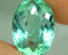 4.65 ct AIG CERTIFIED  Copper Bearing Mozambique Paraiba Tourmaline-PR487