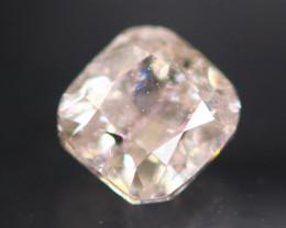 Argyle Pink 0.23Ct Natural Argyle Pink Color Diamond B0205
