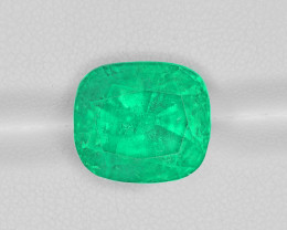 Emerald, 8.85ct - Mined in Colombia   Certified by GRS