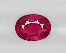 Ruby, 2.05ct - Mined in Mozambique | Certified by GIA