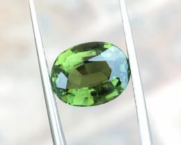 4.20 Ct Natural Greenish Transparent Tourmaline Gemstone