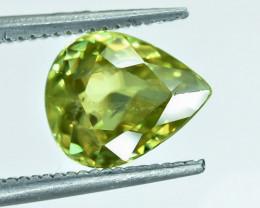1.93 Crt Natural Chrysoberyl  Faceted Gemstone.( AB 06)