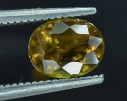 1.29 Crt Natural Sphene Faceted Gemstone.( AB 06)