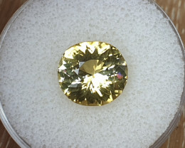 7,14ct Golden Yellow Tourmaline - Master cut!