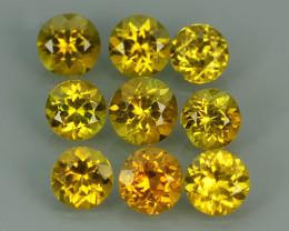 1.85 cts Natural Intense Beautiful Yellow mali garnet round