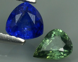 1.30 CTS AWESOME BLUE SAPPHIRE FACET GENUINE  MADAGASCAR!!