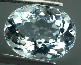 5.70 CTS-EXQUISITE NATURAL UNHEATED OVAL-CUT BLUE -AQUAMARINE~BEAUTY!!