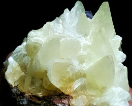Amazing Damage free Calcite cluster combine with Fluorite 635Cts-Pak