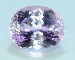 35.80 Carats Pink Color Kunzite Gemstone