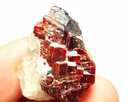 Lovely Rare Red color Tantalite specimen 165 Cts-Afghanistan