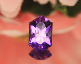 Slightly Color Shift Master Cut Rose De France Amethyst  Gemstone Cut by Ma