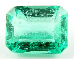 0.40ct Natural Colombian Emerald Certified Loose Gemstone No Reserve Auctio