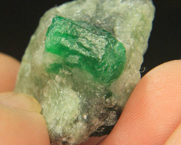 Wow Very Beautiful Swat Emerald Specimen From Pakistan