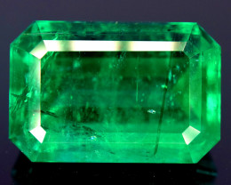 GRS Certified ~ 15.94 Ct Natural Emerald ~ Collector Piece