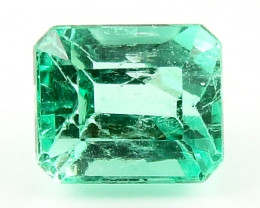 0.50ct Natural Colombian Emerald Certified Loose Gemstone No Reserve Auctio