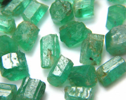 60Ct Natural Emerald Facet Rough Parcel