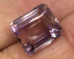 ⭐️SALE ! 14.51 Carat VVS Ametrine Incredible Flash Quality  Bolivia Rare !