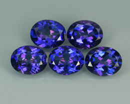 16.05 CTS SUPERIOR! TOP OVAL SET TANZANITE COLOR TOPAZ GENUINE NR!!