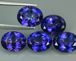 15.65 CTS SUPERIOR! TOP OVAL SET TANZANITE COLOR TOPAZ GENUINE NR!!