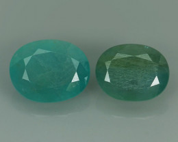 3.70 cts World's Rarest Gem Oval Natural Green Grandidierite Wonderful!
