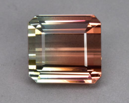 11.18 Cts Beautiful Attractive Natural Bi Colour Tourmaline