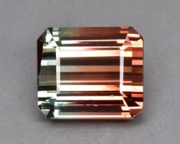 10.61 Cts Amazing Beautiful Natural Bi Colour Tourmaline