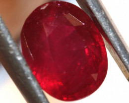 3.84 CTS RUBY NATURAL FACETED STONE CG-2739