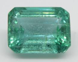 3.04ct Emerald Cut Emerald