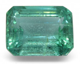 3.04ct Emerald Cut Emerald