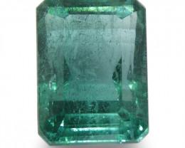 3.8ct Emerald Cut Emerald