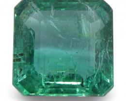 3.36ct Emerald Cut Emerald
