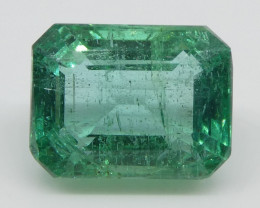 3.05ct Emerald Cut Emerald