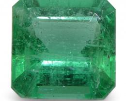 1.1ct Emerald Square