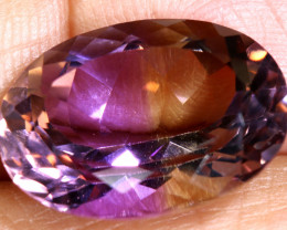 12.30 CTS  NATURAL AMETRINE FACETED GEMSTONE BG-392