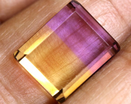 6.65 CTS  NATURAL AMETRINE FACETED GEMSTONE BG-395