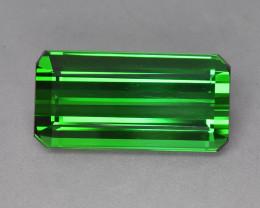 39.34 Cts Amazing Beautiful Color Natural Top Green Tourmaline