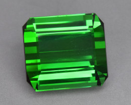 33.77 Cts Excellent Beautiful Color Natural Top Green Tourmaline