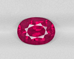 Ruby, 2.04ct - Mined in Mozambique | Certified by GIA
