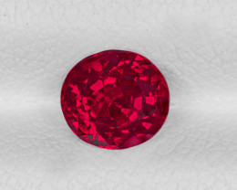 "BURMA GRS ""Pigeon's Blood"" Ruby, 1.04ct - Certified by GRS"