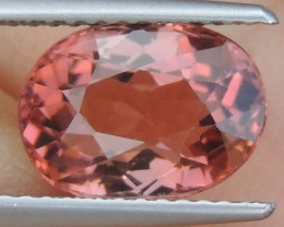 "3.33cts ""Padparascha"" Color Tourmaline,  Untreated"