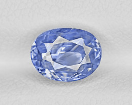 Blue Sapphire, 2.69ct - Mined in Kashmir | Certified by GRS