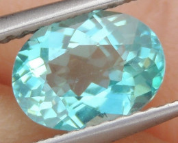 1.30cts Neon Apatite,  Jaw Dropping Luster