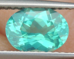 1.40cts Neon Apatite,  Jaw Dropping Luster