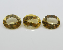 8.23ct Heliodor Oval Wholesale Lot