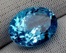 22CT BLUE TOPAZ  BEST QUALITY GEMSTONE IIGC50