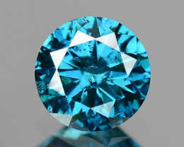 0.33 Cts SPARKLING RARE FANCY BLUE COLOR NATURAL DIAMOND