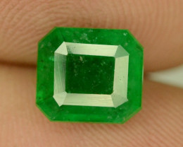 1.50 CT NATURAL GREEN  EMERALD